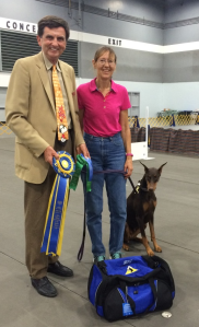 Obedience Highest Scoring Dog in Regular Classes