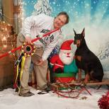 """MACH Foxfire's Loving It All """"Jersey"""" Owned by: Ken Ray and Debi Sternburg Earned the following in 2016 Agility- Master Agility Champion"""